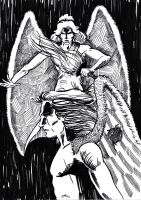 Angel of Death by Entiman