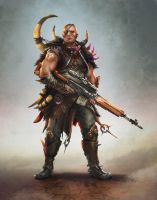 Wasteland Hunter by Mikeypetrov