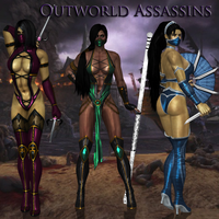 Outworld Assassins by victor-rochefort