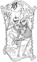 I AM The Pumpkin King - Lines by ALXNDR-Art