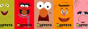 Muppets movie posters by SirToddingtonIII
