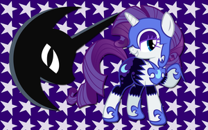 Night Mare Night Rarity WP by AliceHumanSacrifice0