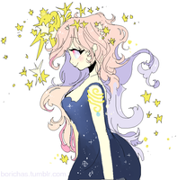 Custom Commission: Starry Cosmos pt 1 by Costly