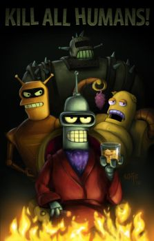 The League of Robots by Bakenius