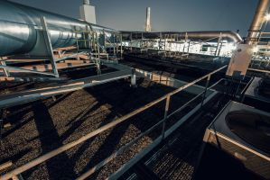 Rooftop Pipes by 5isalive