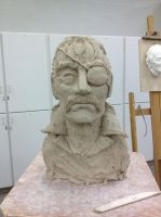 King Bradley Bust: Unfinished by Kyokaiba