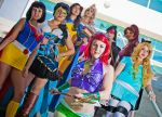 SuperHero Disney Princesses 5 by Vampire--Kitten