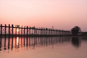 U-Bein-Bridge by Osiris81