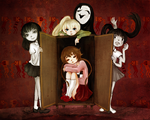 Yume Nikki: In the Closet by gomimushi