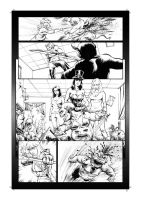 Grimm Fairy Tales 2013 Holiday Edition Ink Page 34 by Kofee77