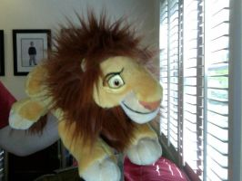 Adult Simba Plushie by FireNationPhoenix