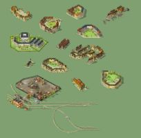 Isometric Game Assets by Maripon