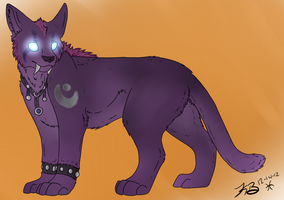 Night Elf Druid Kitty by Canis-ursus