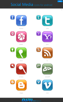 Social Media Icons for Android by dstyler