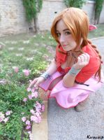 Aerith Gainsborough - FINAL FANTASY VII by ExionYukoCosplay