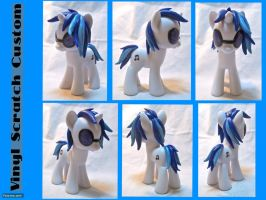 Vinyl Scratch Custom by CadmiumCrab