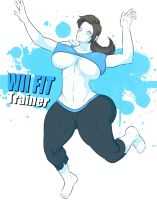 Wii Fit Trainer - Wii Fit by Jay-Marvel