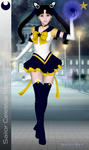 Sailor Celestial Moon by CrystalSetsuna