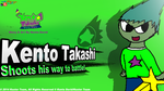 Kento Takashi Splash Wallpapaer intro by CreativeArtist-Kenta
