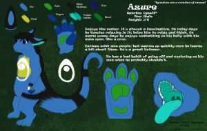 Azure Reference Sheet by Sirfy