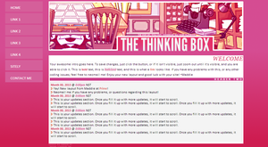 The thinking box custom layout by maddieover