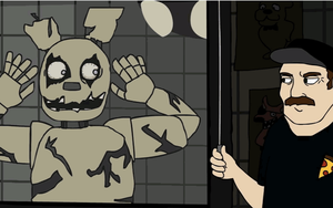 Five Nights at Springtrap's gif by Firecrystal100