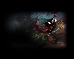Leage of Legends: Jax Wallpaper by EmptyxFX