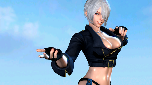 King of Fighters (1a - Angel) by AdeptusInfinitus