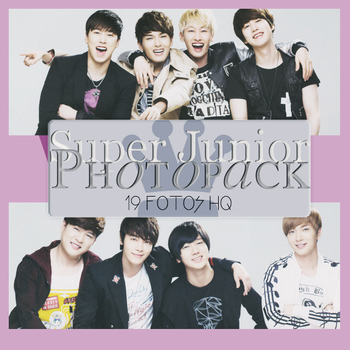 Photopack Super Junior 043 by DiamondPhotopacks