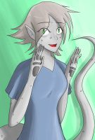 XMEN OC Character Challenge - Day 10 - Dru by Cold-Creature