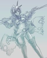 daily sketch - Yoko by Phantasy89