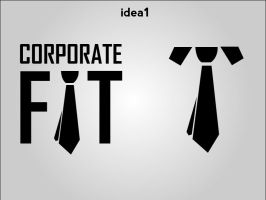 Corp Fit Logo 2 by pointblankcreativity
