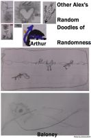 Arthur and Other Doodles by Airdria