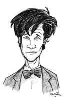 Doctor Who #11 - Matt Smith by thecommonwombat