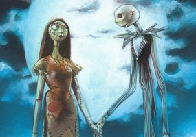 Jack Skellington and Sally by JeffLafferty