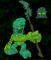 Matoran Kongu by EVanimations