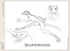 Superdog by cephaloneiric