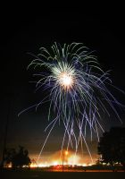 The Fireworks Monster Attacks by requiem7892