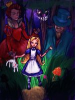 Wonderland Redux by gossywings