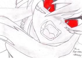 Inuyasha: My Fourth Drawing by MsYelenaJonas