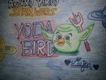 Angry Birds Star Wars: Yoda Bird by MeganLovesAngryBirds