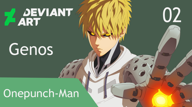 Onepunch-Man: Genos (SpeedPaint). by llSwaggerll