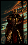 LM: The Emperor towers above all, Yusar. by DettanKarmen7