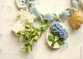 Bracelet  Weddings in Greece fragment by allim-lip