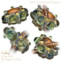 Goddess Pandora-Style Bead by copperrein