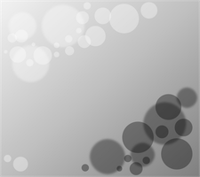 Black White Spheres Background by Masterluis500