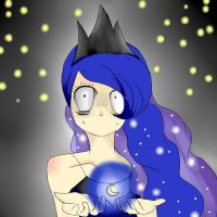 Luna Human by Chloebaloney