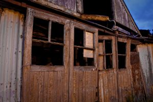The old Garage doors by BusterBrownBB