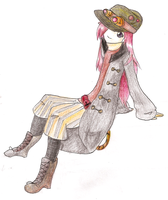 Secret Santa Steampunk Girl by Inosins