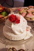Cameo Cake - Side View by DoodleDuo